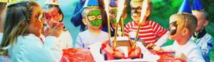 Kindergeburtstag Frankfurt Partybild